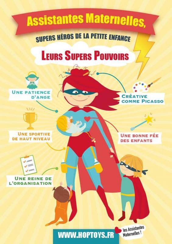 Assmat femme supers pouvoirs hoptoys 2