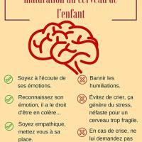 Conditions maturation cerveau enfant