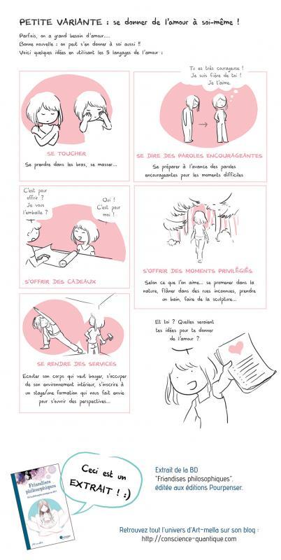 Les5 langages de lamour5 pour soi